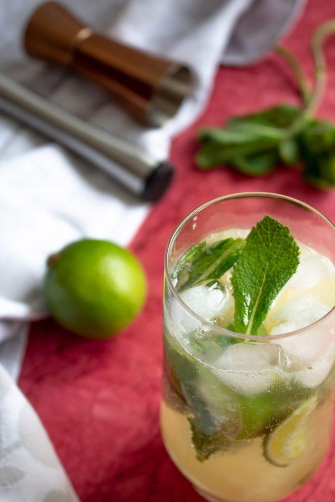 Pineapple Mojito Cocktail