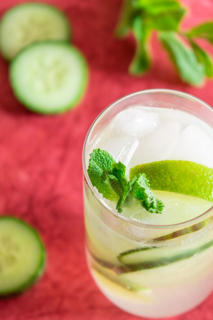 Recipe for cucumber mojito