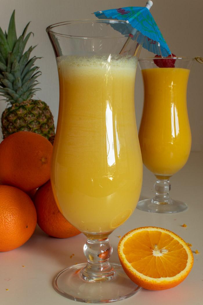 Tropical Orange Pina Colada