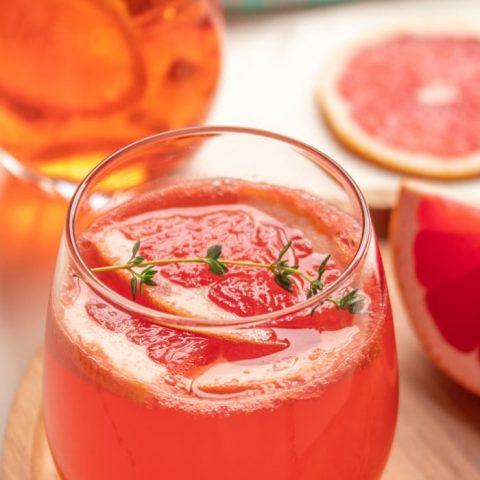 Aperol Grapefruit Cocktail