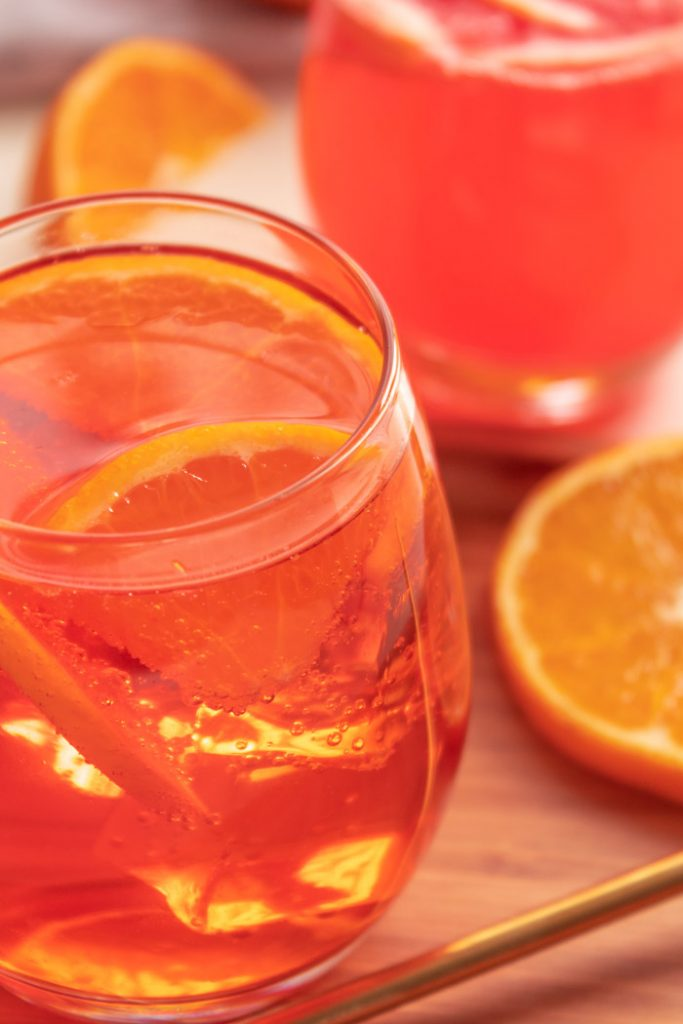Aperol Spritz Glass
