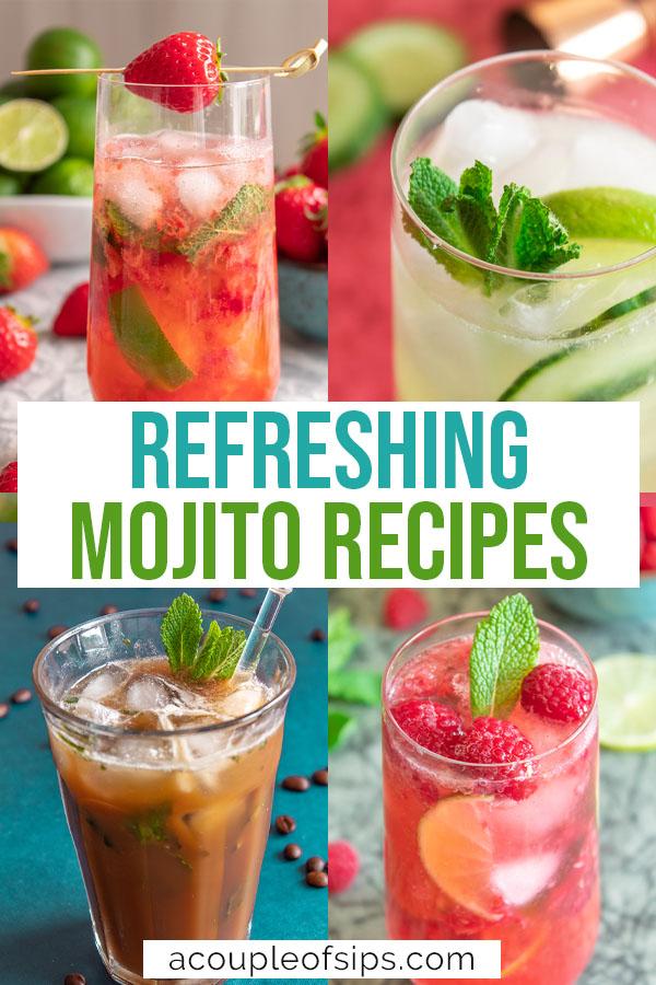 Best mojito recipes Pinterest graphic