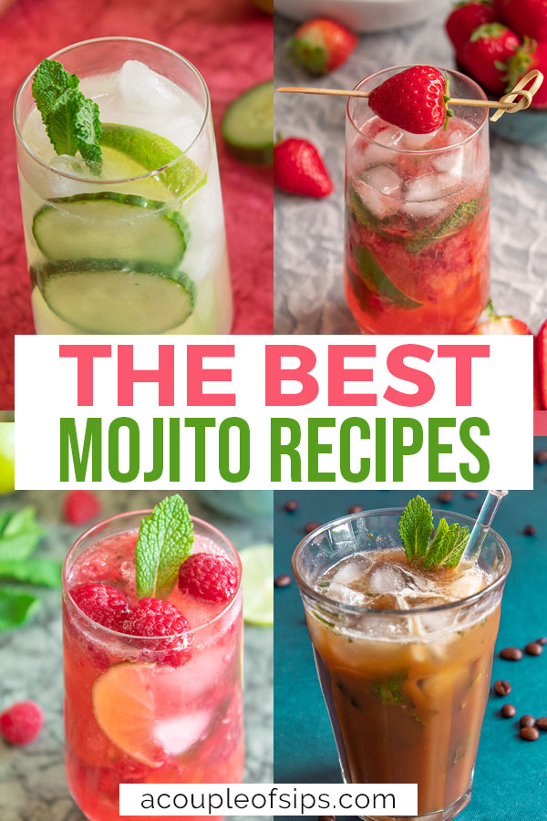 Best mojito recipes Pinterest graphic