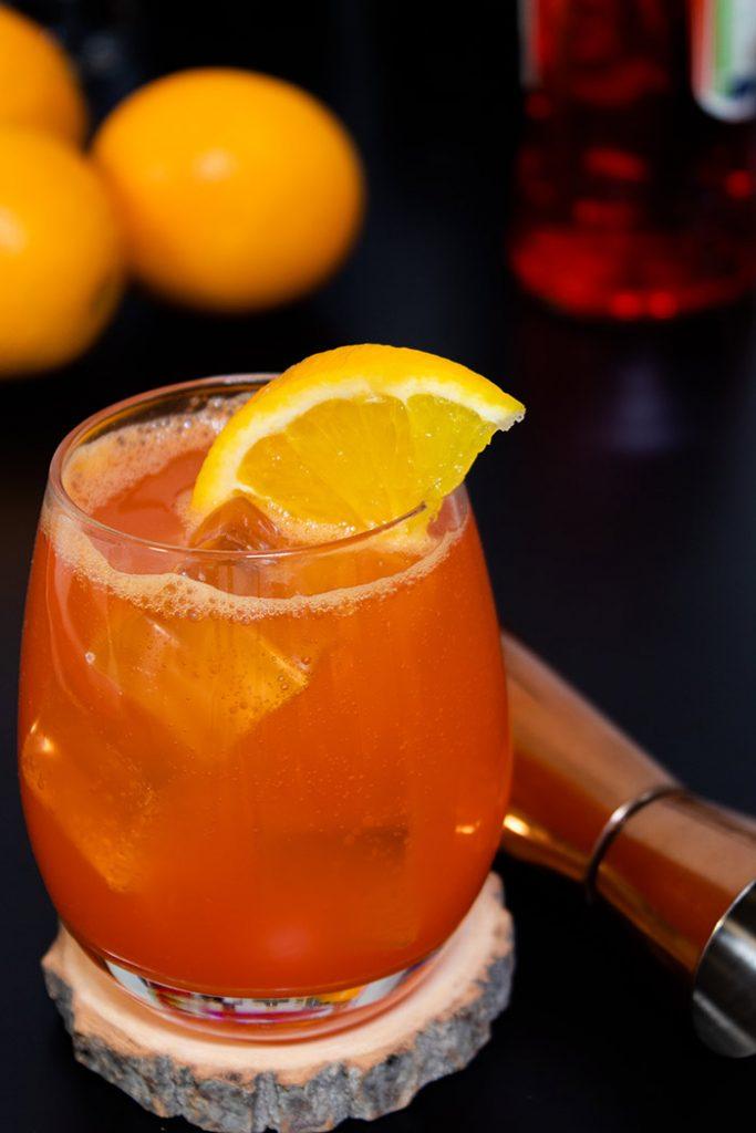 Aperol Orange Juice Drink