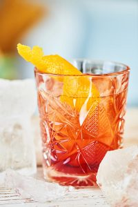 Aperol Negroni Cocktail