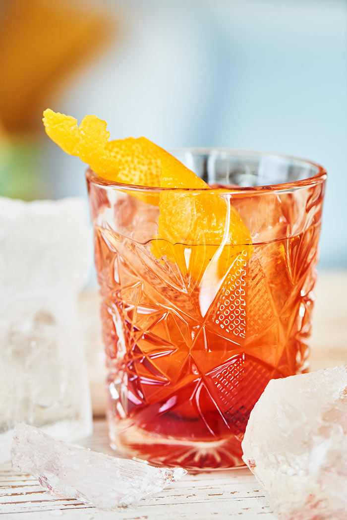 Aperol Negroni Cocktail