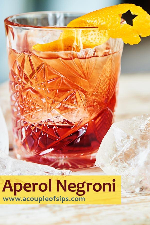 Aperol Negroni Pinterest Graphic