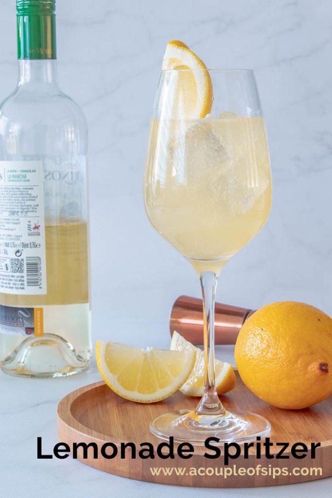 Lemonade Spritzer Pinterest Graphic