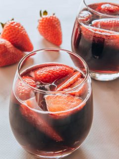 Fruity Red Wine Spritzer